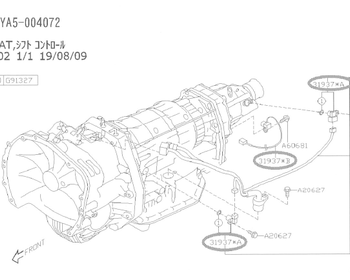 Subaru - Speed Sensor