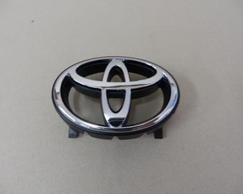 Toyota - Front Emblem - Silver - T Emblem - Late model 9/94-