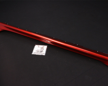 Mitsubishi - Left Hand Side Skirt - Red