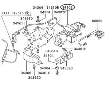 Mitsubishi - Hydraulic Unit Diff Control