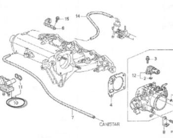 Honda - Idle Control Valve