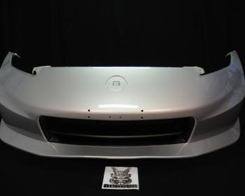 Nissan - Bumper cover W/NISMO, Jun/2009-Jun/2013, Color Code #K23