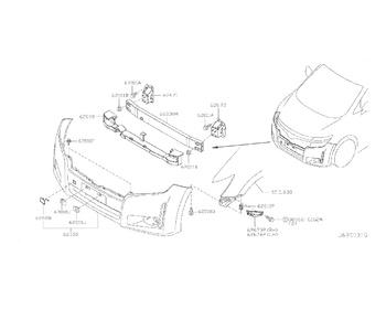 Nissan - Bolt, Front Bumper (x8)
