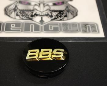 Mitsubishi - Wheel Centre Cap for BBS - Black and Gold - 1 Centre Cap