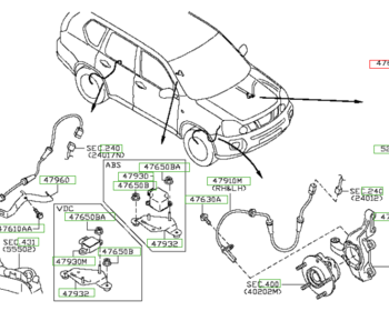 Nissan - ABS Actuator ASSY