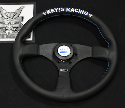 Biggest range of KEY'S Racing steering wheels!